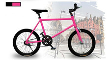 2015 new style colorful fixed gear bike fixie bicycle 20 mini size for lady Chinese supplier KB-700C-M639