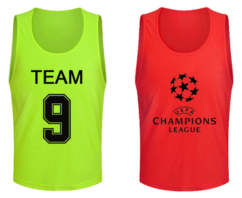 Wholesale polyester custom soccer mesh scrimmage training vests cheap lacrosse pinnies