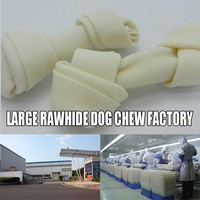 12.5 cm swollen dog chew bone swollen pet feed 100% Pet treat Factory Chicken Dices and carrot stick