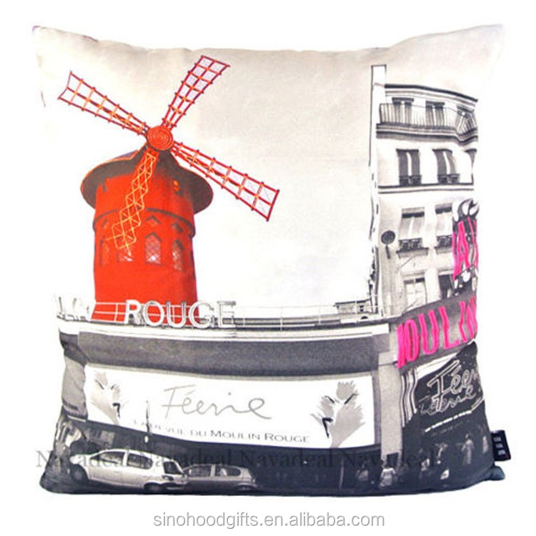 2015 china wholesale factory supplier square decorative wholesale canvas custom pillow cover embroidery design