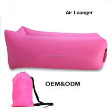 Factory Custom Best Selling Summer Outdoor Portable Lightweight Nylon Inflatable Air Lounger