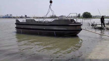 25 feet High strength Aluminium small tug work boat with certificates