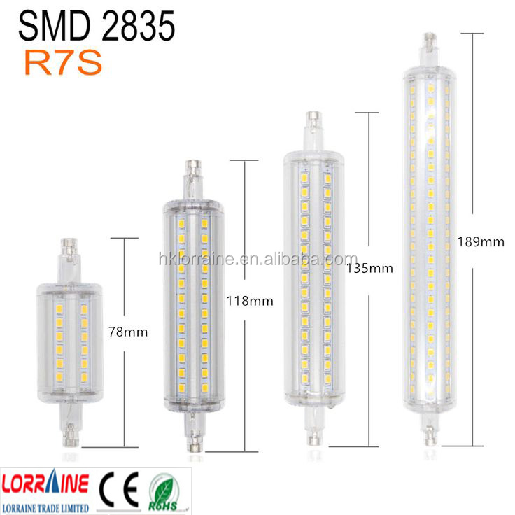 ampoule led r7s 118 mm 30w latest mm led rs bulb form tc. Black Bedroom Furniture Sets. Home Design Ideas