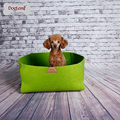 2 IN 1 Nature Pet Bed Puppy bed Blanket Cat Bed pet mattess 40*40*20CM