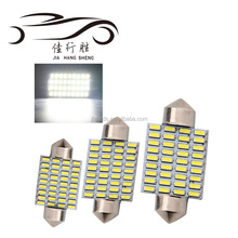 New Arrival Festoon 36smd 3014 led reading light Car LED Festoon 31mm 36mm 39mm 41mm LED Dome Light Automobile Bulbs Lamp