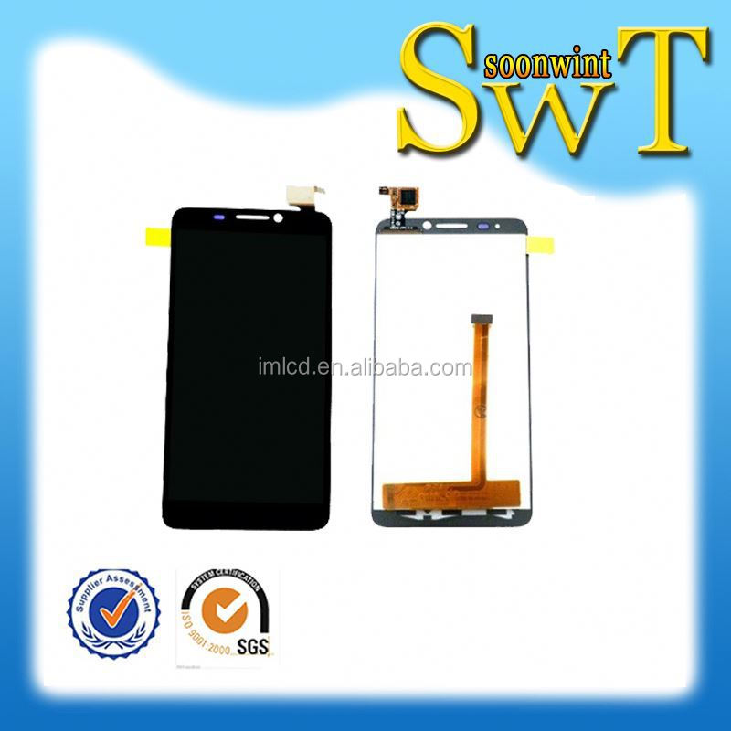 wholesale full lcd assembly for alcatel one touch ot6012 lcmby DHL
