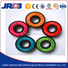 China high quality skateboard wheel bearing 608 deep groove ball bearing for sale