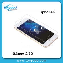 New Products 2015 Japan Premium Tempered Glass Anti Blue Light Screen Protector For iPhone 6 Plus