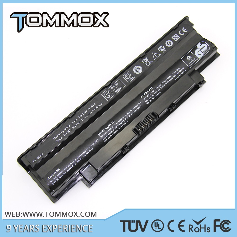 Laptop Battery for Dell Inspiron Laptop Battery for Dell Inspiron J1KND 9T48V 312-0233