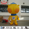 inflatable decoration yellow cartoon, giant inflatable event inflatable mascot