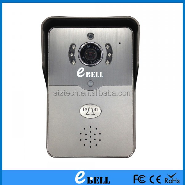 ATZ E-Bell Wired/ Wireless Full Duplex Audio 720P WiFi Video Door Phone Door Bell