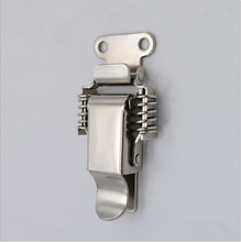 Hot sale stainless steel spring loaded draw lock latch