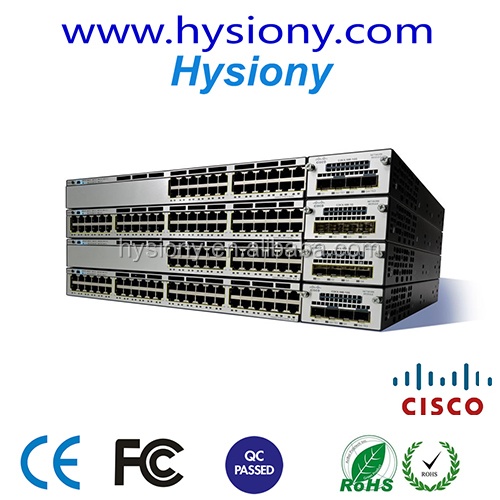 new original Cisco Catalyst 3850 switches network switch brands WS-C3850-48T-S and 48 ports fiber optic ethernet switch
