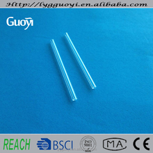 Small diameter 2mm clear quartz glass capillary tube