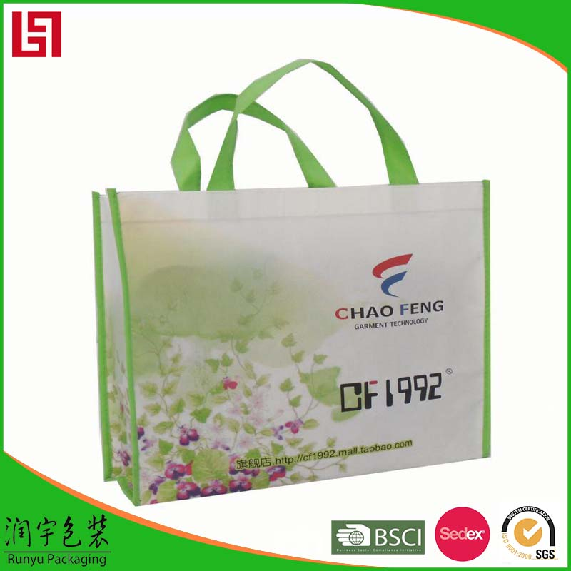 Leadfar promotional square bottom paper shopping bag