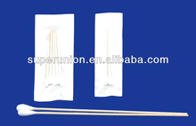 Medical double-end clean cotton swab / cotton applicator