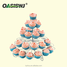 5 tiers Metal cupcake stand wedding cake stand