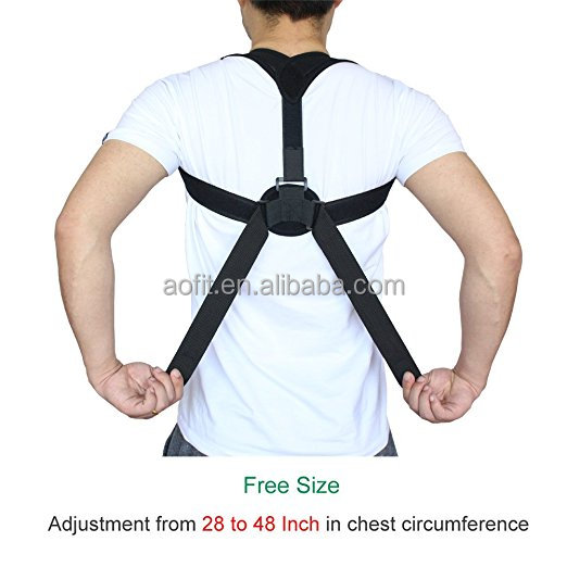 adjustable back support belt for back posture corrector posture corrector brace