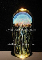 nice crystal artificial jellyfish