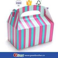 direct factory high quality cheap custom paper cupcake box