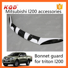 bonnet guard bull guard mitsubishi triton parts bonnet protector for 2016 mitsubishi l200
