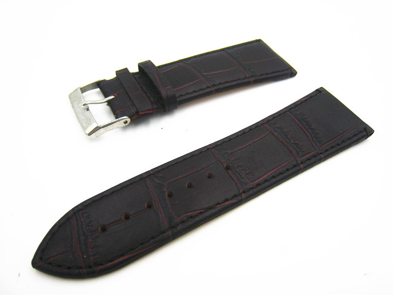 Watch 28mm Luxury Watch Buckle Watchband Genuine Leather Watch Strap Quality Straps For Wrist Watches Black Brown Free Shipping