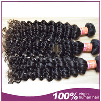 New arrival natural color 100% unprocessed human hair peerless peruvian hair weft