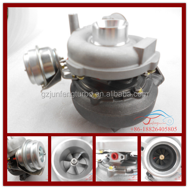 6 Cylinders turbo GT2556V 454191-0015 turbocharger 454191-5015S for BMW 530D, 730D , E38/E39 with M57D Engine