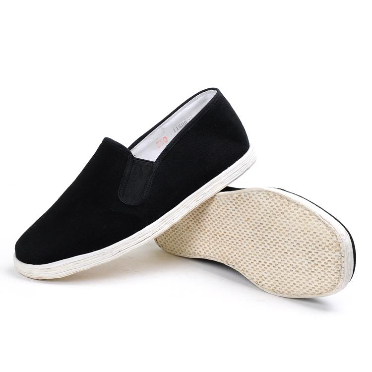 Chinese style cheap sale pure handmade old Beijing cloth kung fu shoes