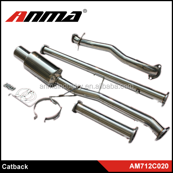 High quality exhaust pipe/custom exhaust
