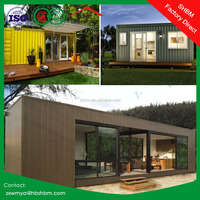 Luxury Style Villa Prefab Shipping container homes for sale