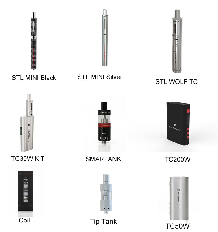 KIMREE/Kimsun TC40W MINI Kit Factory e cig wholesale China Newest e cigarette box mod