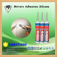 Silicone sealant for mirror, fast cure Mirrors Adhesives Silicone