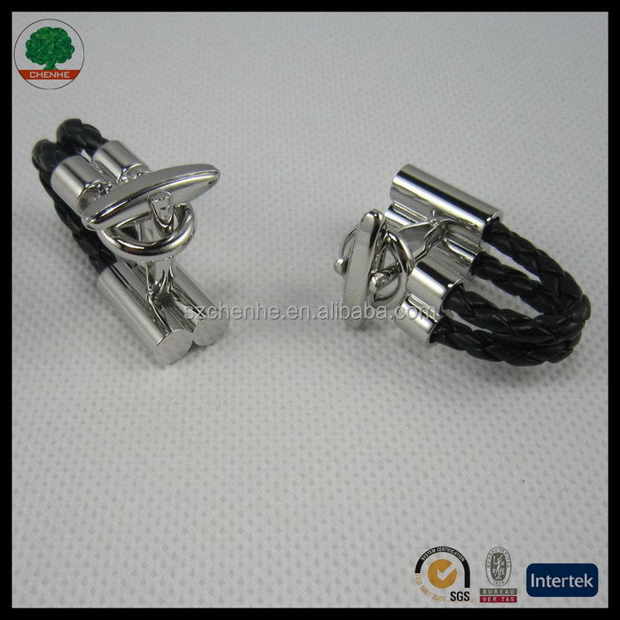 2014 latest stainless steel cufflink and tie pin set