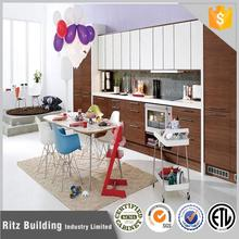 Ritz project laminated commercial kitchen cabinet