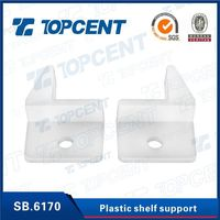 Furniture Fittings Plastic Shelf Support Clips