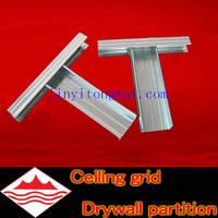 metal building materials channel partition/partition wall material/drywall partition materials