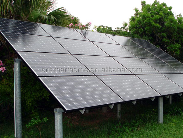 2KW Solar <strong>Electricity</strong>, Stand Alone Complete Solar Panel System