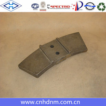 mixer wear-resisting alloy Liebherr concrete mixer spare parts