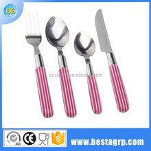 Camping cutlery fork spoon knife plastic fork knife spoon making machine