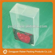 2013 popular pvc plastic pack box