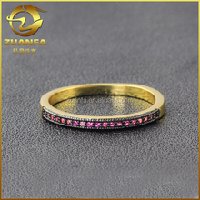 eternity ring zirconia pave jewelry pure 925 real sterling silver jewelry
