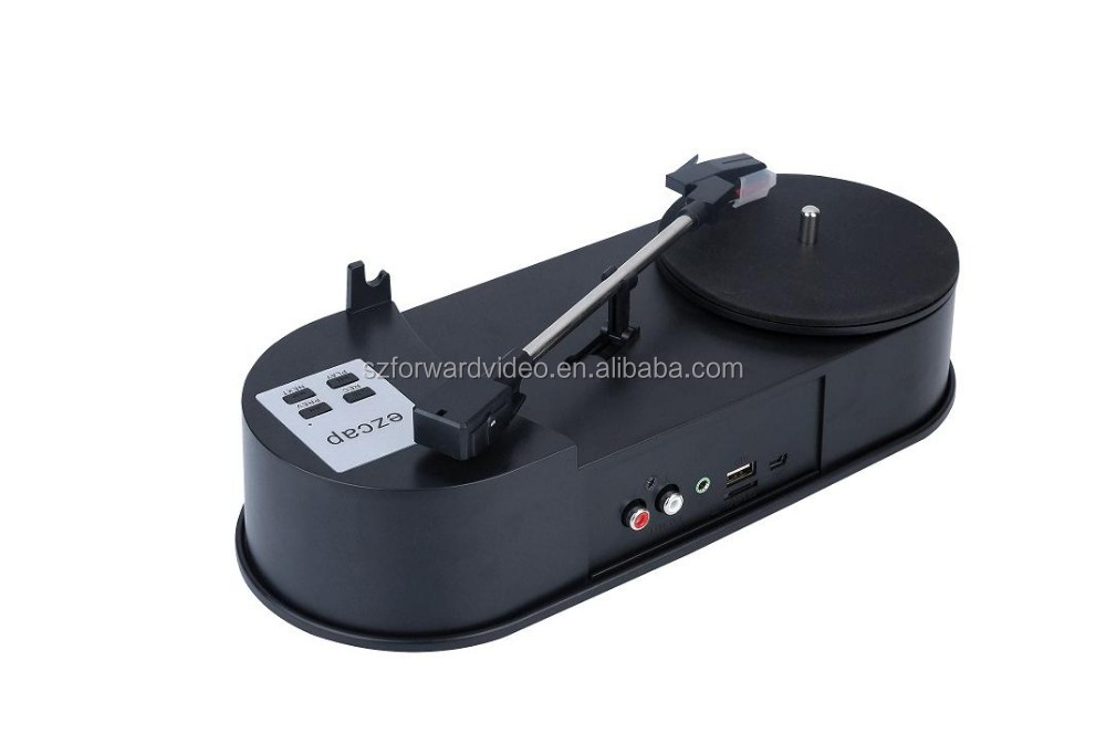 USB Turntable Player audio recording audio converter TF card vinyl converter ezcap613