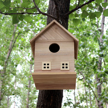 New Unfinished Wooden Bird House Wholesale, Small Wood Crafts Bird House, Bird Cage