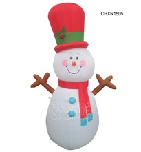 Christmas products Joy Inflatable Christmas snowman Snow Globe Holiday Family Yard Decoration