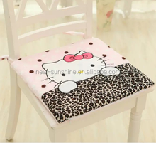 2015 Selling coral fleece cartoon pattern soft and comfortable water washable non-slip CUSHION