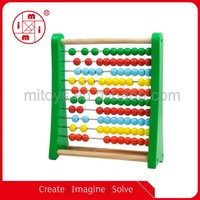 Big Colored Wooden Beads Abacus Education toys for kids math game