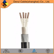 Draka 4 cores armoured power cable with LSZH sheath