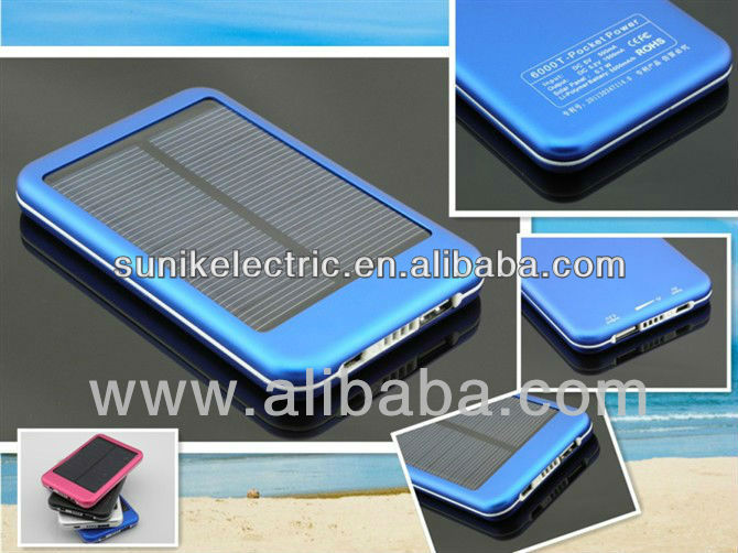 Outdoor travel use Universal Solar Battery Charger for mobile phone, promotional gift