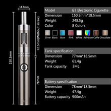 Elektronische zigaretten batterien gs g3 kit dual laden billige e cig starter-kits